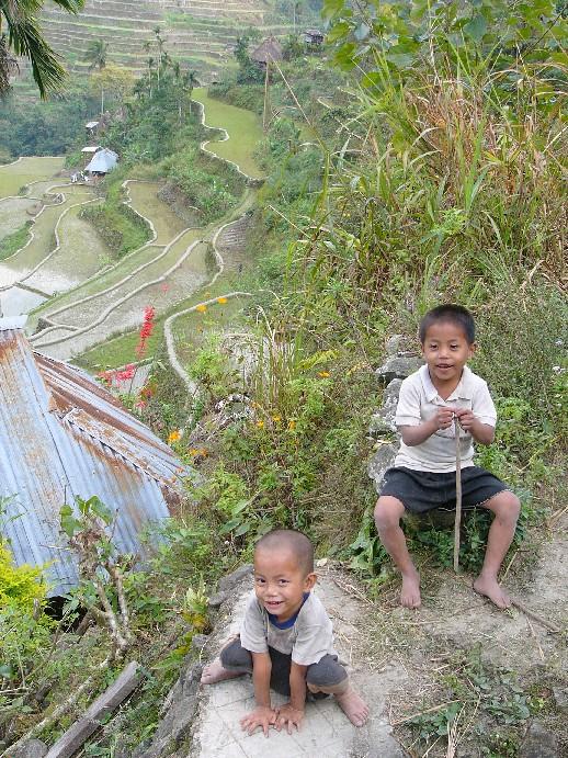enfants Philippines batad
